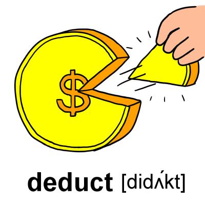 deduct