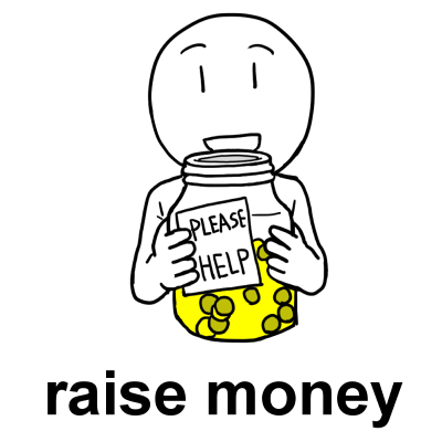 raise money