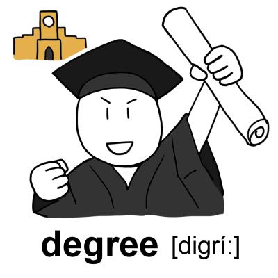 degreeイラスト